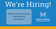 Midlands Technical College Continuing Education takes to social media to look for instructors.