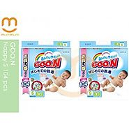 Goon nappy bags NZ with 104pcs in one pack