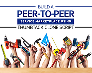 Build a peer-to-peer service marketplace using thumbtack clone script