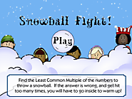 Least Common Multiple Game - Snowball Fight!
