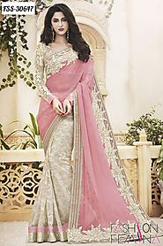 Designer Party Wear Sarees Collection Online For Diwali Festival at Lowest Price