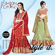 Buy latest fashionable Wedding Lehenga Cholis Online