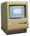 The first Macintosh - The personal computer for the rest of us