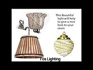 Buy Wall Lights in India - Foslighting