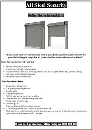 How To Use Roller Doors in Your Space To Prevent It From all weather condition - PdfSR.com