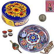 Shop Chocolate Thali For Rakhi at Best Price in India