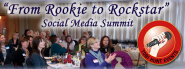 "Early bird pricing ends April 15th for the Two Day "" From Rookie To Rockstar Social Media Summit!"