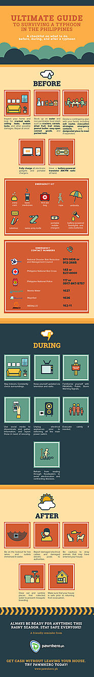 Ultimate Guide to Surviving a Typhoon in the Philippines [Infographic]