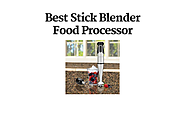 Best Stick Blender Food Processor