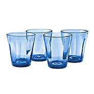 Cobalt Blue Drinking Glasses and Cobalt Blue Wine Glasses