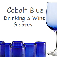 Best Cobalt Blue Drinking Glasses and Wine Glasses