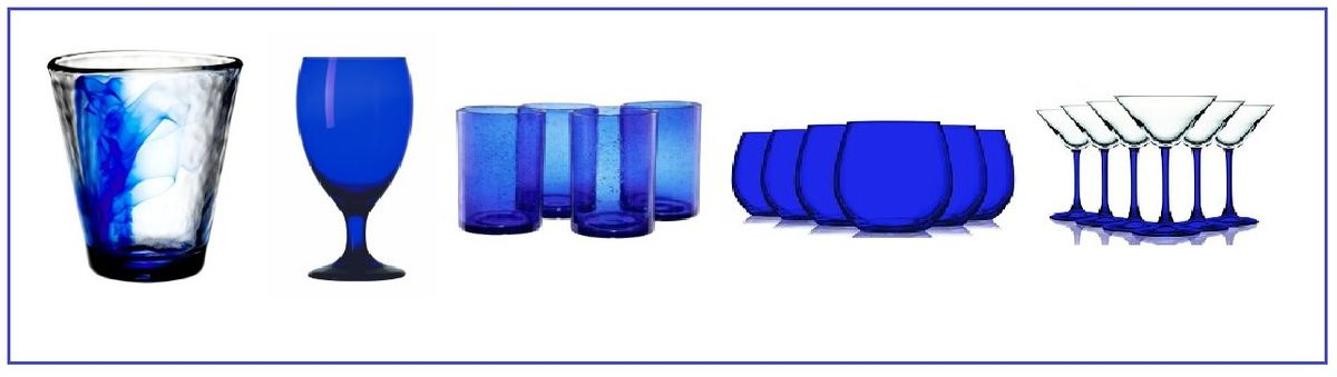 Headline for Cobalt Blue Wine Glasses and Drinking Glasses - Best Styles to Choose From