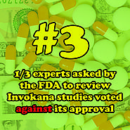 3 - One-third of experts asked by the Food and Drug Administration to review Invokana studies voted against its approval