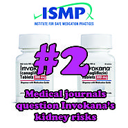 2 - Medical journals question Invokana's safety as it relates to kidney function