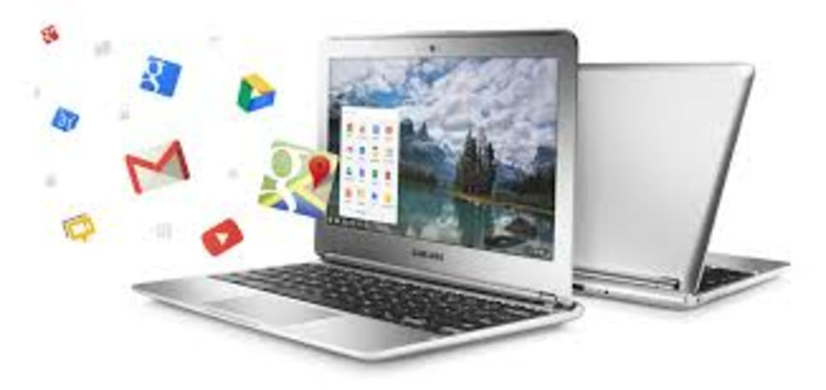 Headline for Google Chromebook Information and Applications