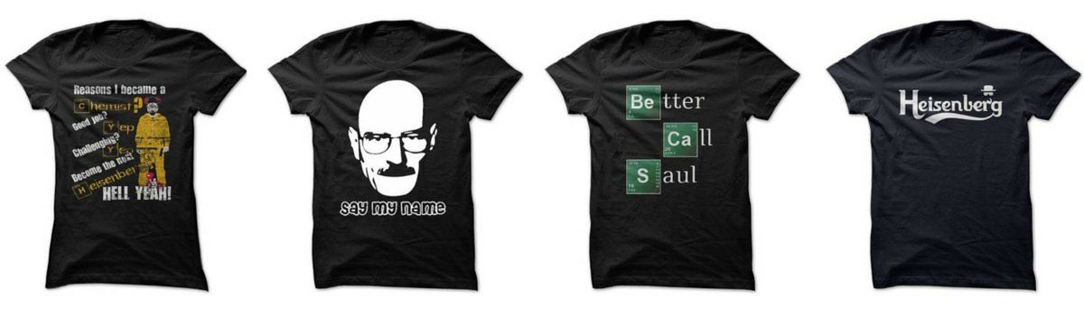 Headline for Breaking Bad T-Shirts For Sale