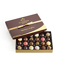 GODIVA 24 pc. Signature Chocolate Truffles