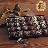 Signature Chocolate Truffles Gift Box: Chocolate Gifts | Harry & David