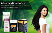 Increasing demand for private hair care product in market