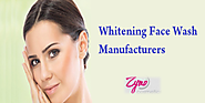 Skin whitening face wash: A new innovation in cosmetics industry