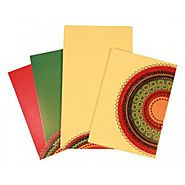 Colorful Indian Wedding Invitations | IN-1645 | 123WeddingCards