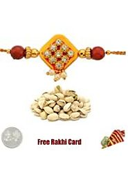 Send traditional Rakhis to USA at this Rakshabandhan