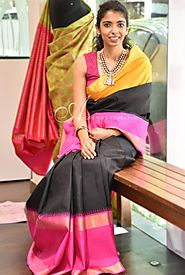 Look Gorgeous in Designer Partly Pallu Sarees | Aavaranaa