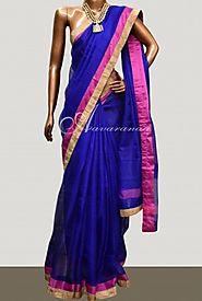 Embroidery Sarees Shopping at Aavaranaa