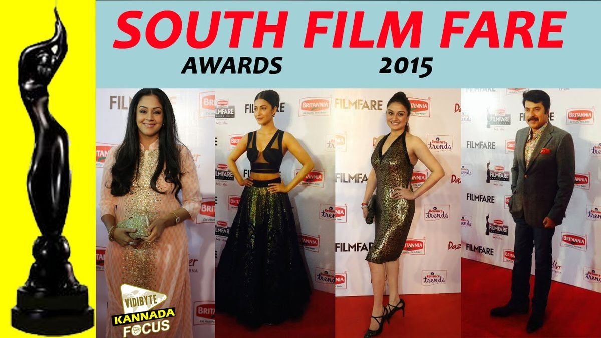 Headline for Winners List of Filmfare Awards South 2015 (MALAYALAM)