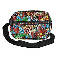 The ultimate Marvel comics character bag