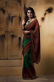 How To Look Slim in Sarees?