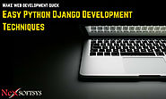 Easy python django development techniques for web development