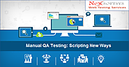 How to Develop Scripting New Method Using Manual QA Testing