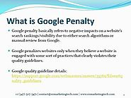 How to Revoke Google's Manual Penalty