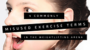 4 Commonly Misused Exercise Terms