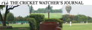 The Cricket Watcher's Journal