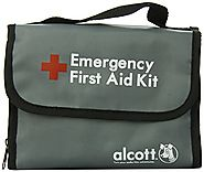 Alcott Explorer 40-Piece First Aid Kit for Pets and People, Travel Size