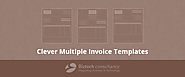 Clever Multiple Invoice Templates