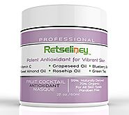 Retseliney Antioxidant Clay Facial Mask, Brightening & Rejuvenating for Dull Skin, Tightens, Pore Reducer, Reduce...