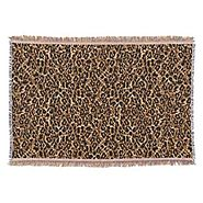 Leopard Print Throw Blankets