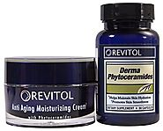 Revitol Phytoceramides Anti-Aging Combo Kit - Pills and Cream