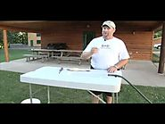 Lindy Fish Cleaning Table - Midwest Outdoors Tip Of The Week.mov