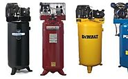 Top Rated 60 Gal Air Compressors - Vertical Standing