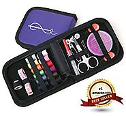 Best Sewing Kit for Home, Travel and Emergency + FREE BONUS EBOOK - Premium Sewing Supplies