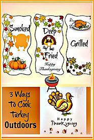 Cook A Turkey Outdoors In 3 Different Ways • Home Kitchen Fryer