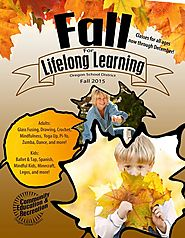 Oregon School District Community Education & Recreation builds buzz for their fall catalog.