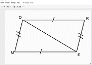 Creating Geometry Drawings with Google Draw