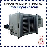 How tray dryers oven drying process works?