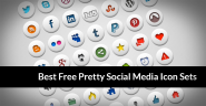 25 Best Free Pretty Social Media Icon Sets - Best Free Icons