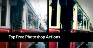 30 Beautiful Free Photoshop Actions Collection of 2013 - Graphic Sources